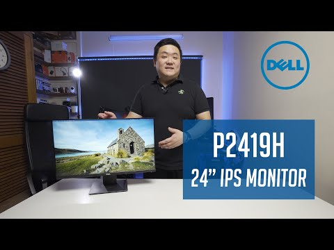 """Dell Professional 24"""" IPS Monitor - P2419H 
