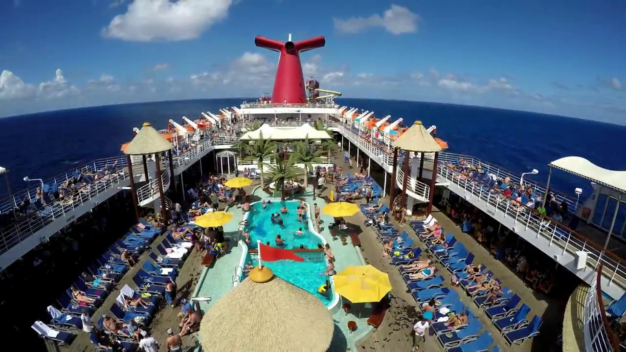 Carnival Fascination Southern Caribbean Cruise Youtube