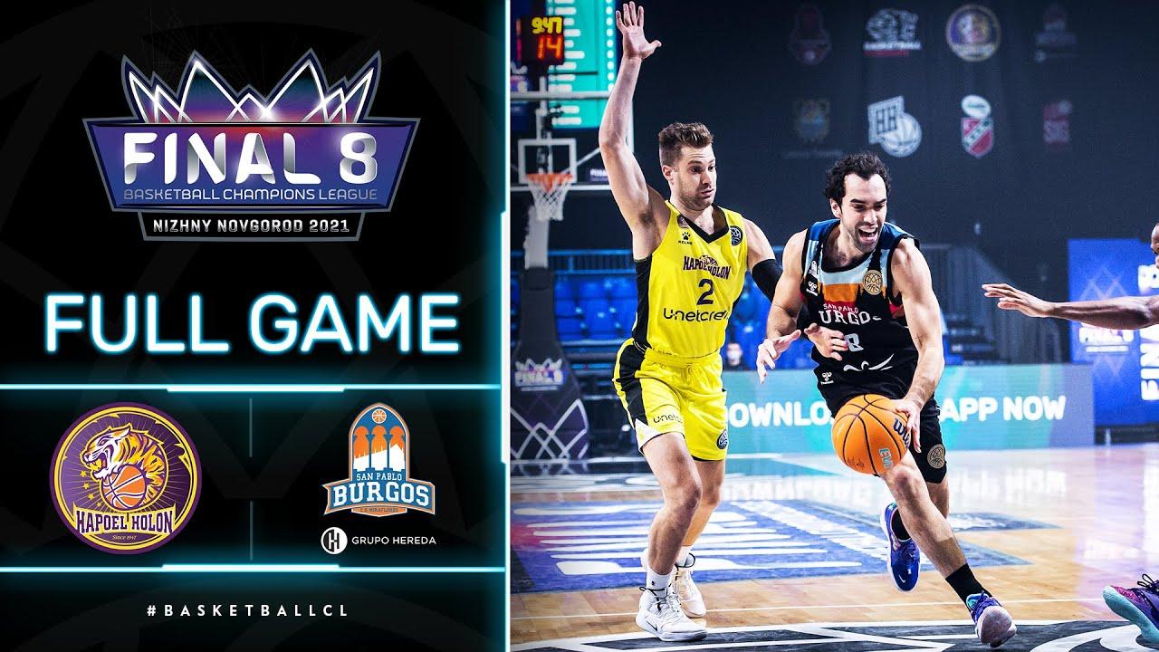 Hapoel Unet-Credit Holon v Hereda San Pablo Burgos - Full Game | Basketball Champions League 2020/21