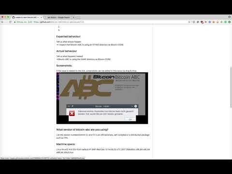 Bitcoin CASH / ABC GITHUB