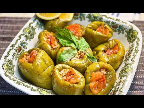 Best Turkish Stuffed Bell Peppers Recipe. Amazing ! En İyi Zeytinyağlı Dolma Tarifi. Çok İddialıyız!
