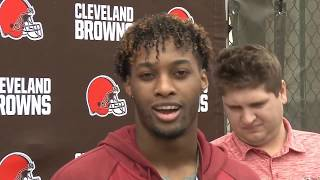 What was Denzel Ward's reaction when the Browns drafted Greedy Williams? - MS&LL 5/24/19