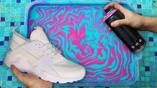 HYDRO Dipping NIKE AIR HUARACHE !!