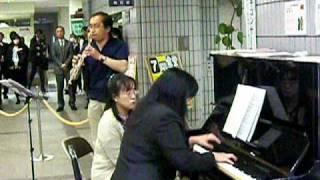 「第6回宮のランチコンサート」ピアノ連弾とフルートコンサート 3