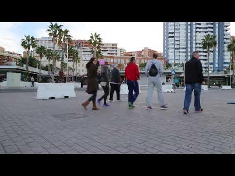 Spain Malaga Port / Espagne Malaga Port
