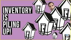 Real Estate SLOWDOWN Coming as Inventory PILING UP! U.S. Housing Market Slump Due To the Fed!