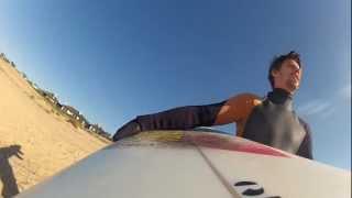 Playa del barco, Uruguay,  Noviembre 2012 - Gopro2 Surf