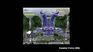 Counter Force gameplay for the Wii
