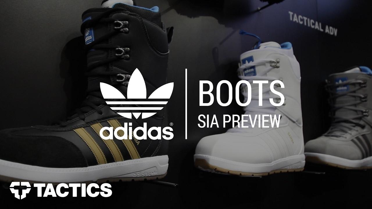 Adidas 2018 snowboard stivali sia in anteprima su youtube