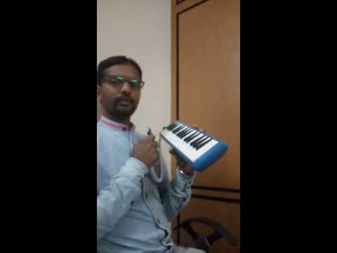 "|| CHALO || ""Choosi Chudangane "" on MELODICA ( Pianica) -(Practice Version) coverBy B Krishna."