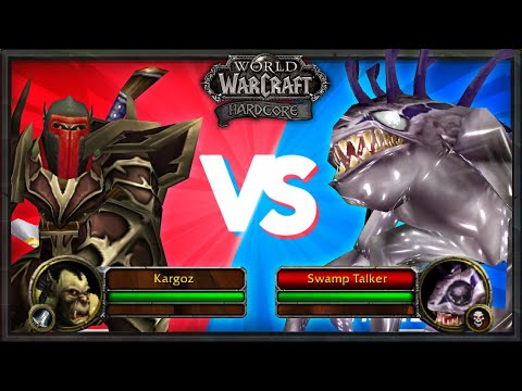FIGHTING STRONGEST MURLOC IN THE GAME - 47 Warrior Attempts 55 Quest (Death = Delete) - Classic WoW