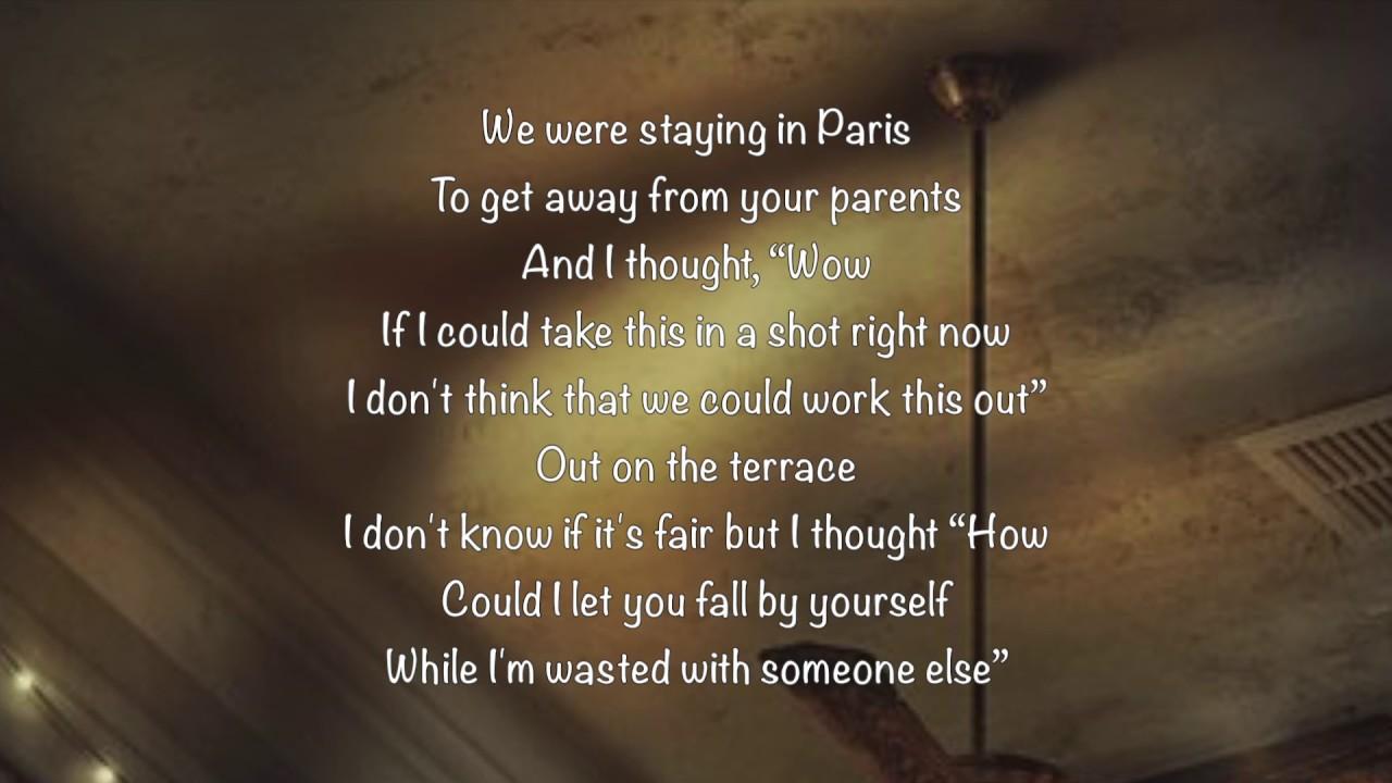a paris lyrics