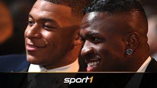 Für Mbappé: Real will Vinicius Junior ziehen lassen | SPORT1 - TRANSFERMARKT