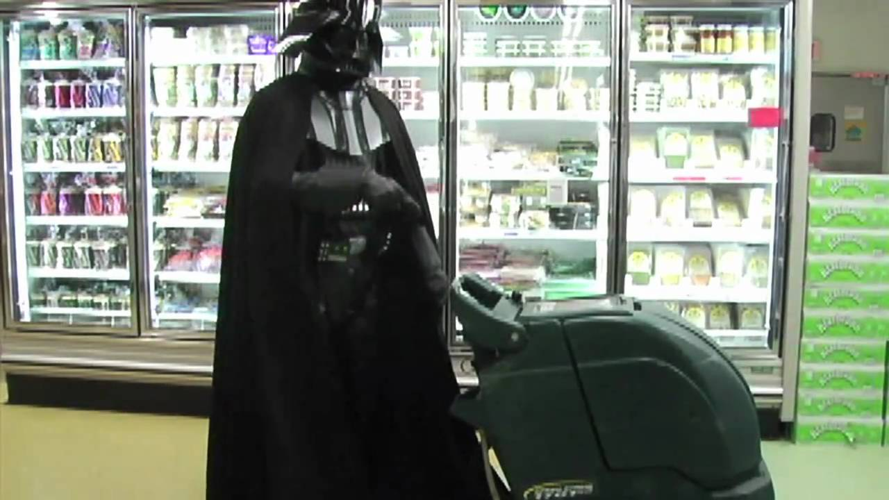 chad vader day shift manager the night shift