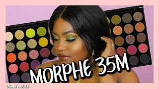New! Morphe 35M Boss Mood Palette | Dark Skin