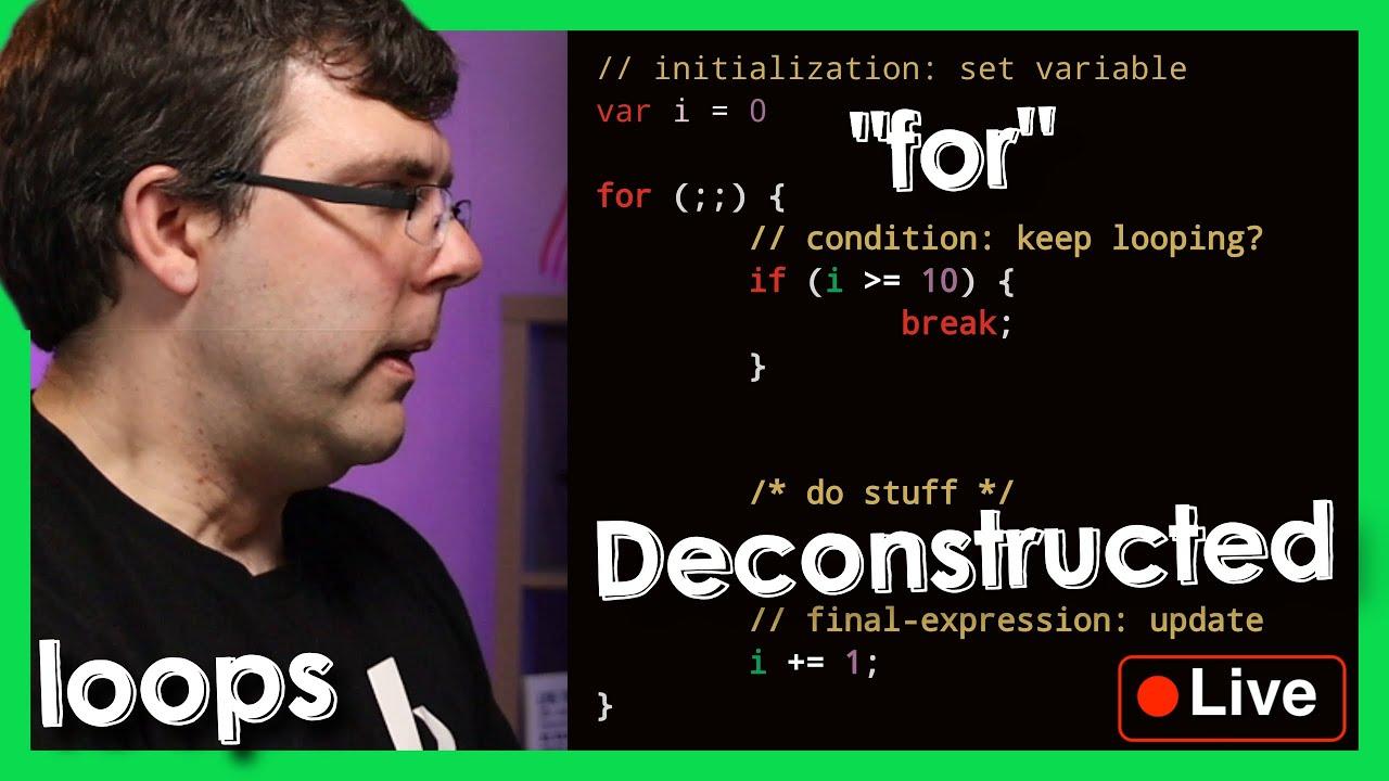 """Loops Part 1: """"Loop"""" vs """"For Loop"""" - Live Mentorship Session - Beyond Code Bootcamp"""