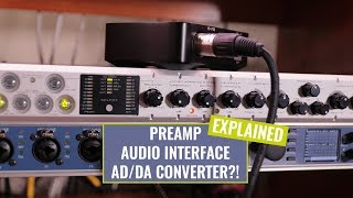 preamp-audio-interface-and-a-d-converter-whats-the-difference