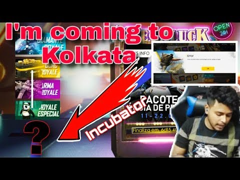 Why Not Show Incubator In Free Fire || Kolkata Meetup || Garena Free Fire