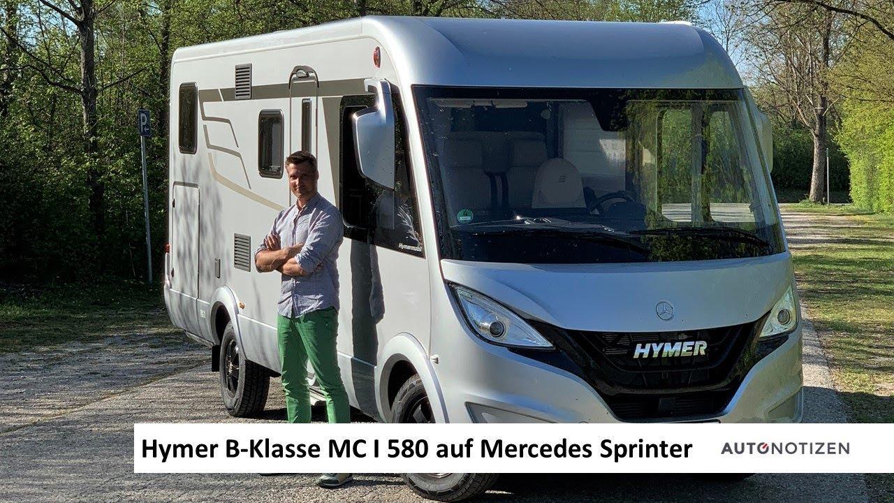 Hymer B-Klasse MC I 8 Wohnmobil auf Mercedes Sprinter 8 - Review, Test