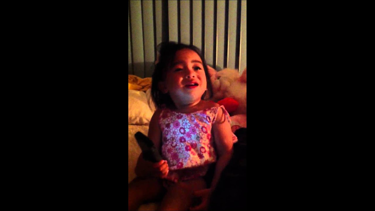 Baby Saying Goodnight Daddy Youtube