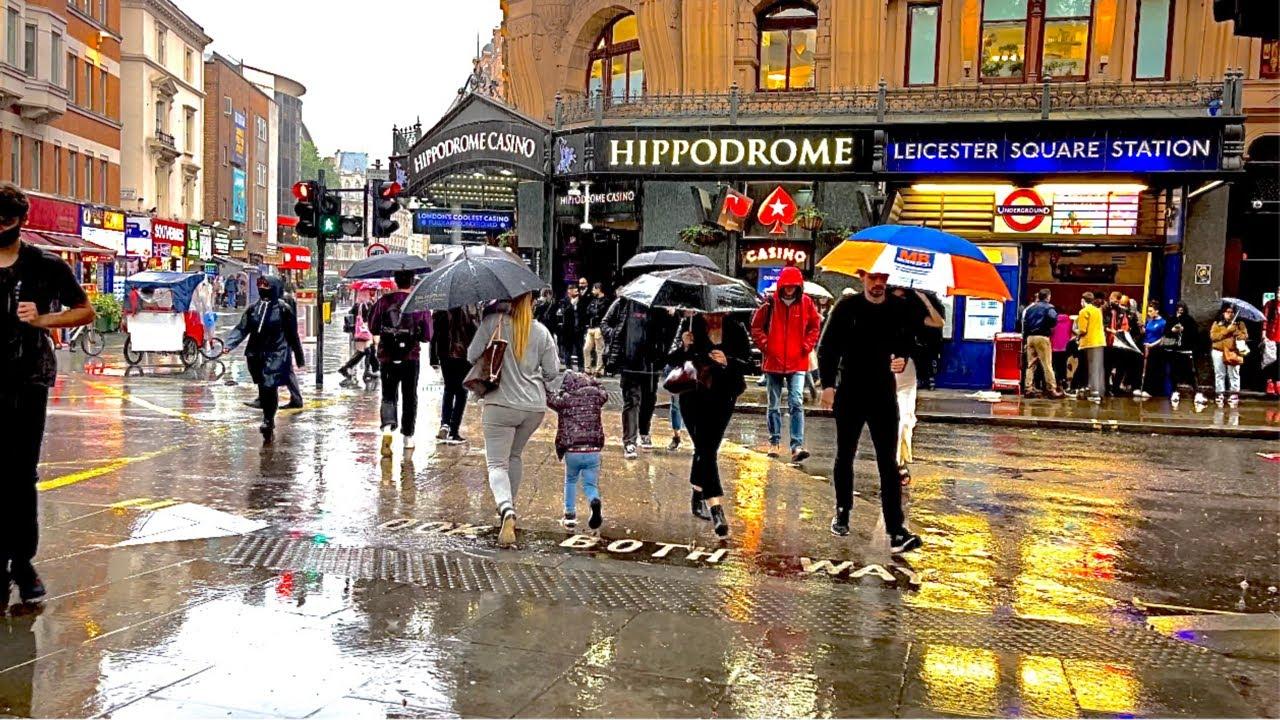 Download Heavy Rain In Central-July 2021🌧ASMR Relaxing Rain Sounds🌧London Rain Walk[4k]