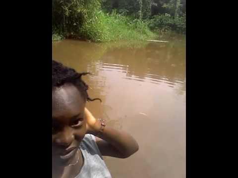 Ekosodin river in Benin city