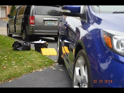 Salvage title inspection 2013 Ford Focus ST Dort Federal Credit Union Flint auto appraisal