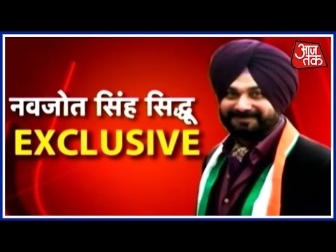 Exclusive Interview Of Navjot Singh Sidhu