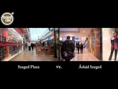 Árkád vs Szeged Plaza