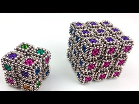 DIY-How to make Rubik's Cube |Magnetic superman