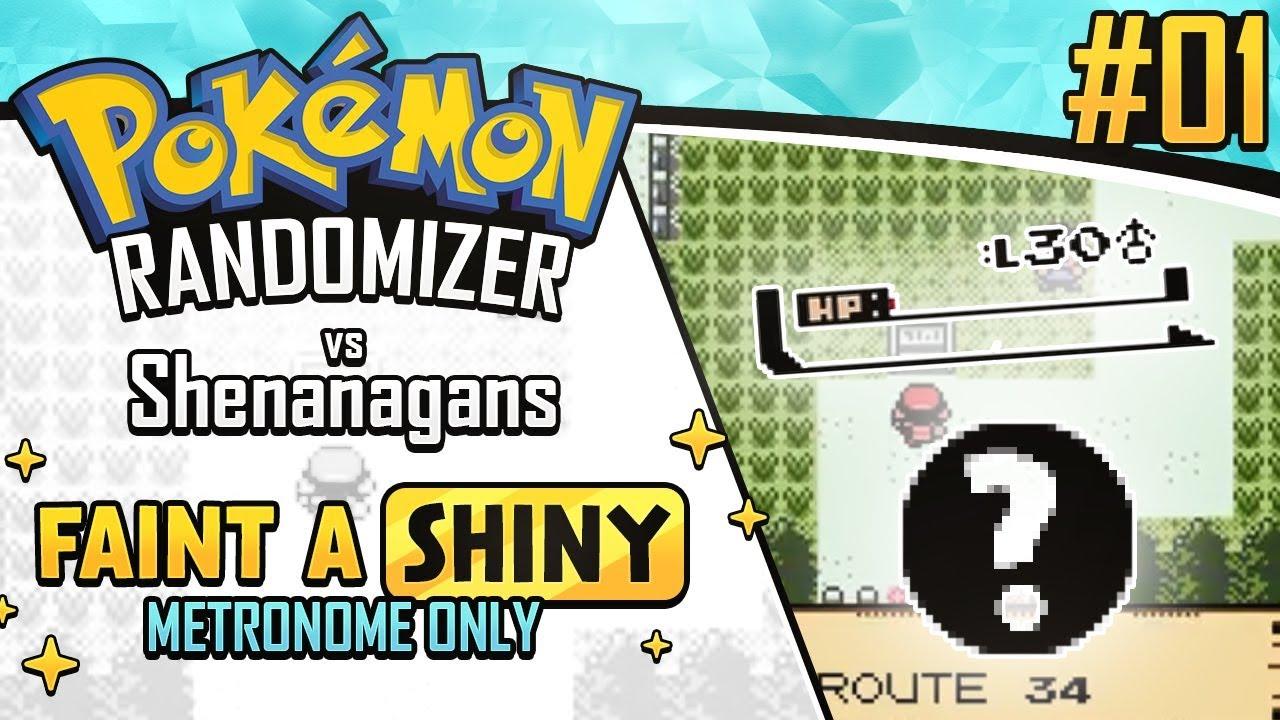 First to faint a Shiny METRONOME ONLY Race vs Shenanagans | Pokemon Crystal  Randomizer #1