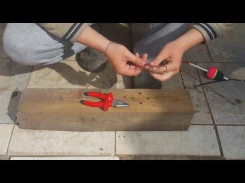 изготовление тремпеля для ловли толстолобика