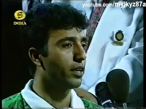 Saeed Anwar Interviewed after scoring 194 runs against India