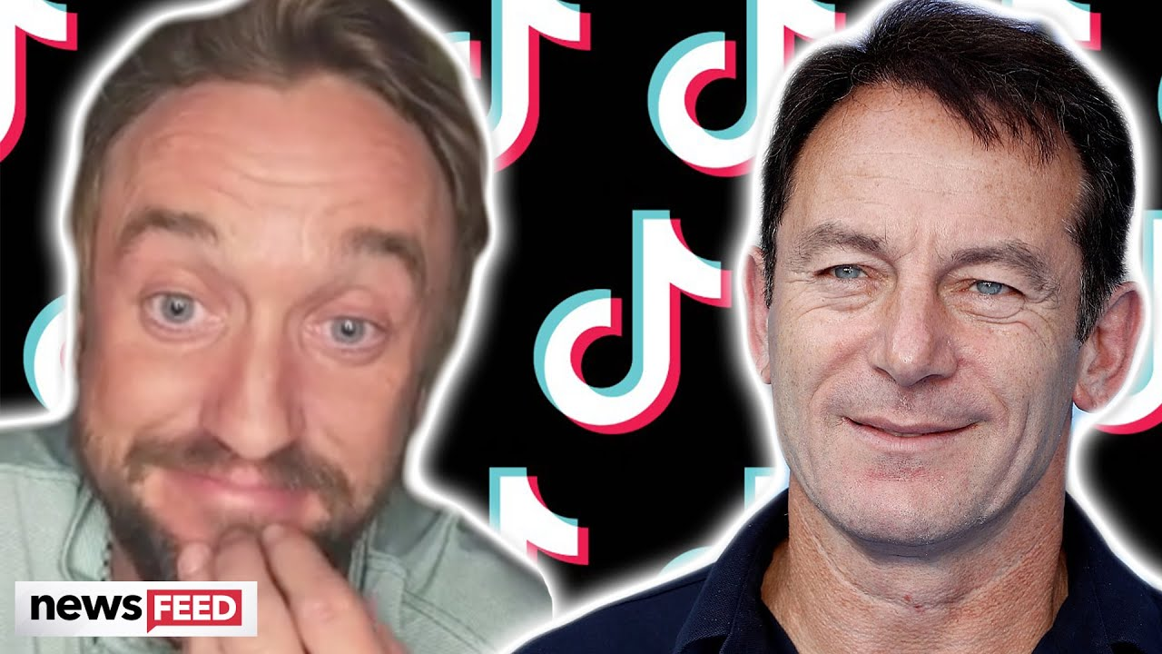 Tom Felton Recruits 'Dad' For 'Pottah' TikTok Challenge!