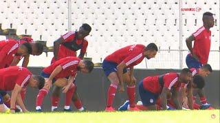 Η προπόνηση ενόψει τελικού Κυπέλλου στο ΟΑΚΑ / Training session at OAKA ahead of the Greek Cup final