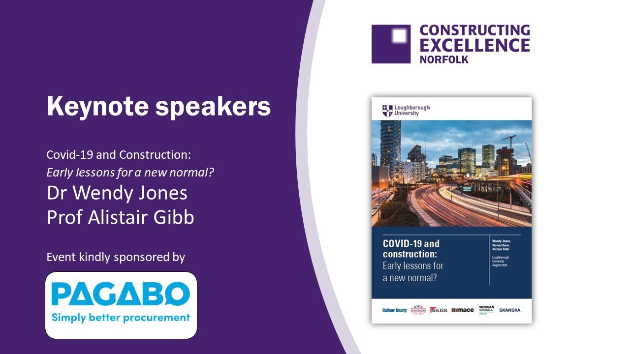 Norfolk Constructing Excellence October 2020 Covid 19 and Construction