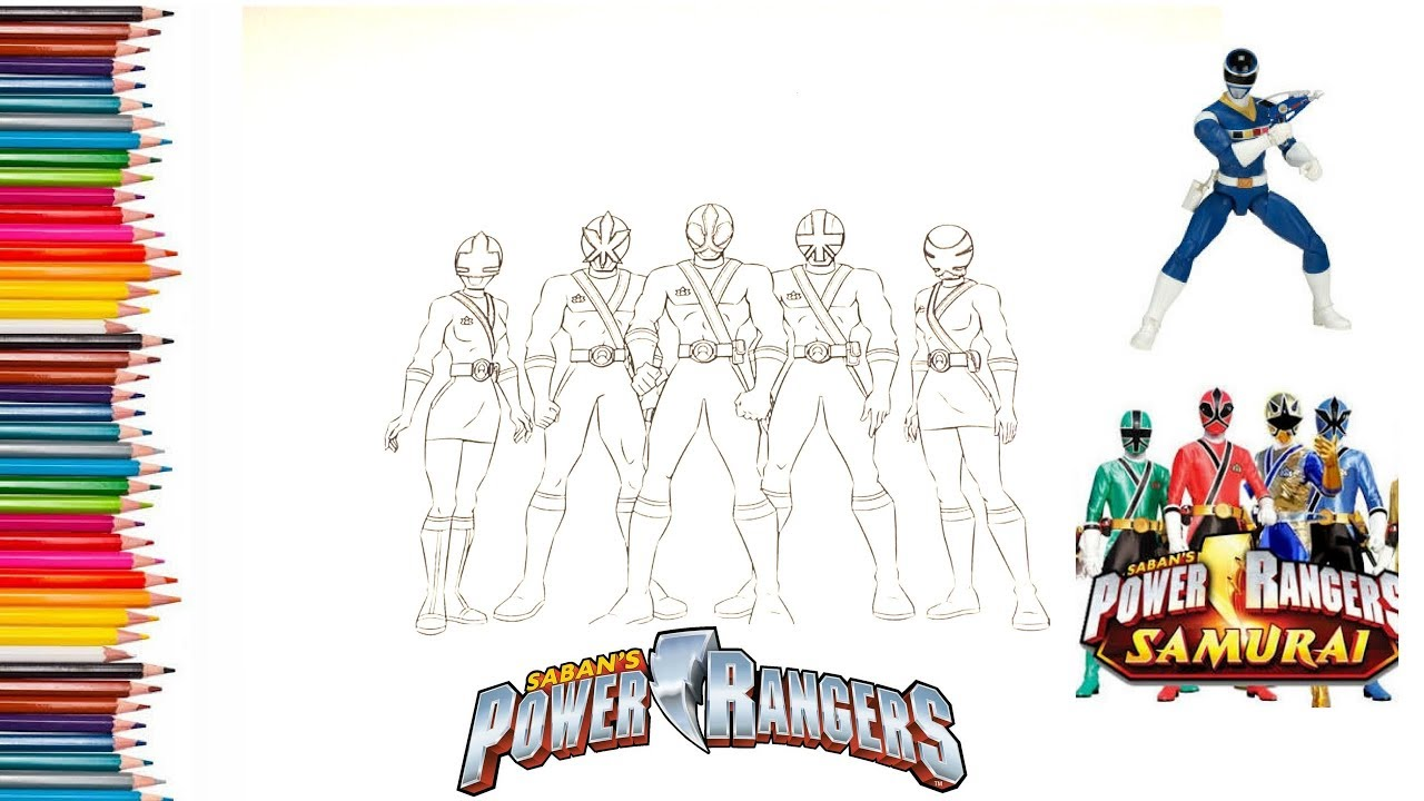 Power Rangers Filmi Boyama Ve Renklendirme Painting Youtube