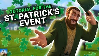 St. Patrick's Day Event - Tutorial