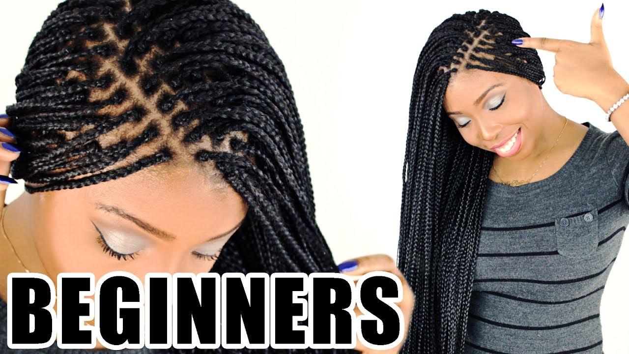 30 inch MICRO BRAIDS! | Small Box Braids - YouTube