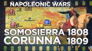 Battles of Somosierra and Corunna 1808-1809 - Napoleonic Wars DOCUMENTARY