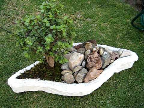 Fuente de agua artesanal youtube for Fuentes de jardin caseras