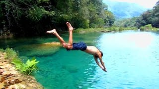 Ultimate Guatemala Jungle Hiking & Swimming Adventure!