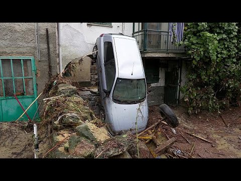 شاهد: خراب في مدينة كاستيليتو دوربا الإيطالية بسبب الفيضانات…  - نشر قبل 58 دقيقة