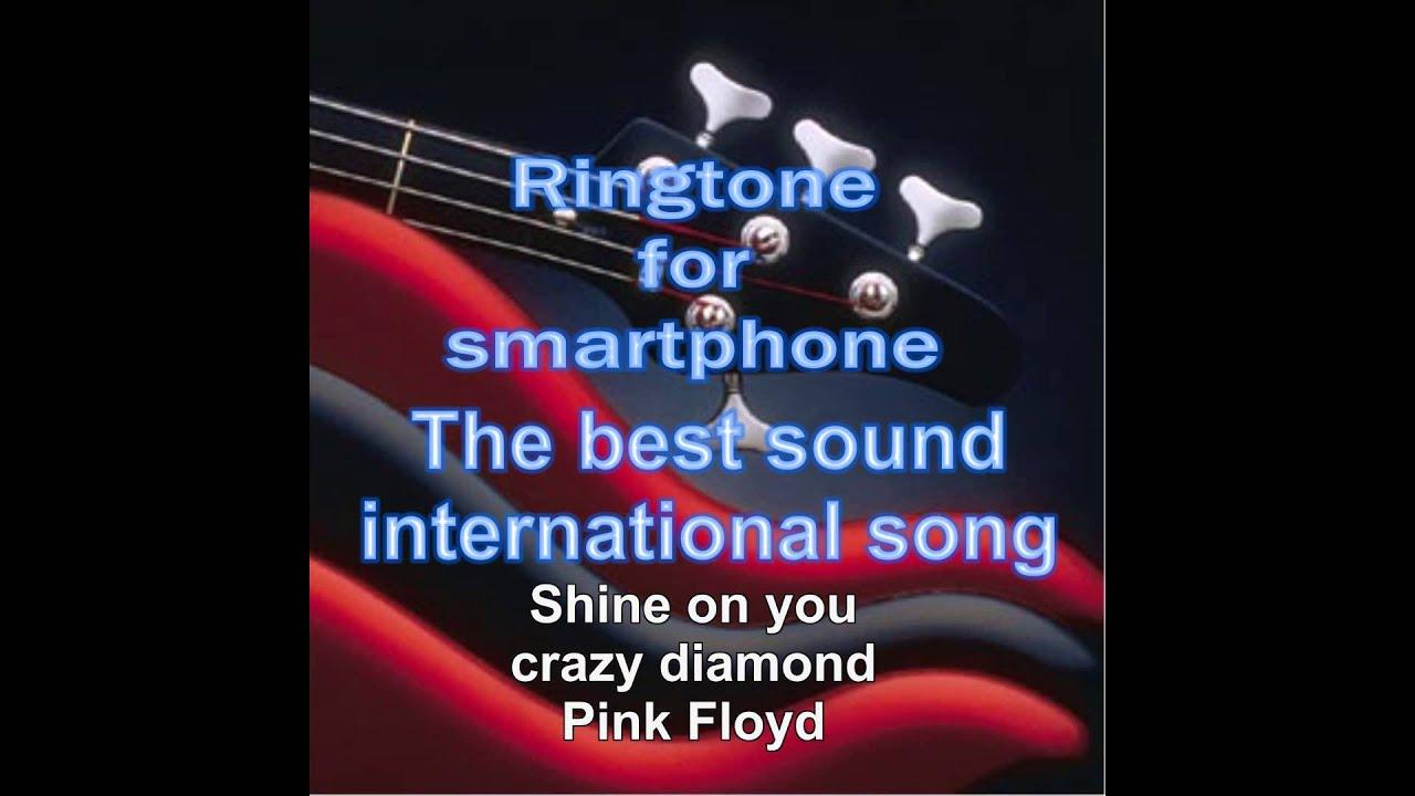 Ringtone for smartphone Pink Floyd Shine on you crazy diamond