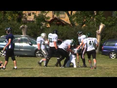 Koltai Gergely # 33 Safety - Eagles American Football