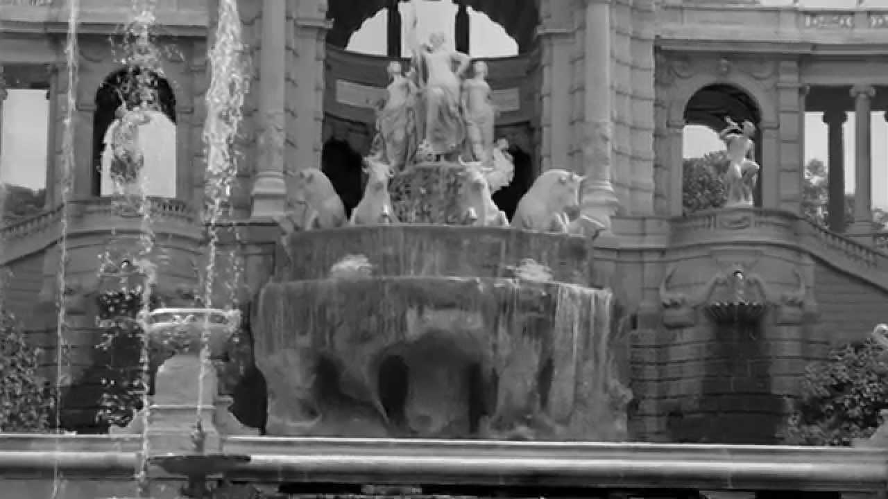 Le Palais Longchamp A Marseille Animation 3D Visite Virtuelle Dans Une Carte Postale