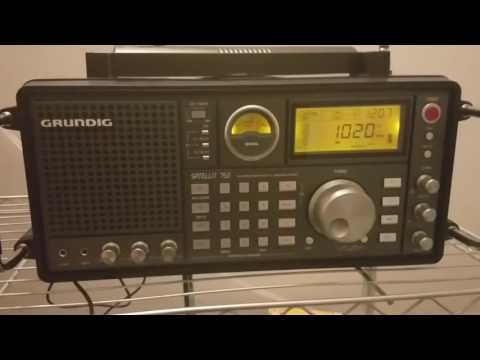 AM DX 1020 KDKA very strong