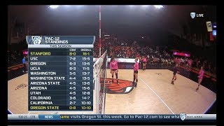 Cover images Stanford v Oregon State, 10/19/2018, Women's Volleyball