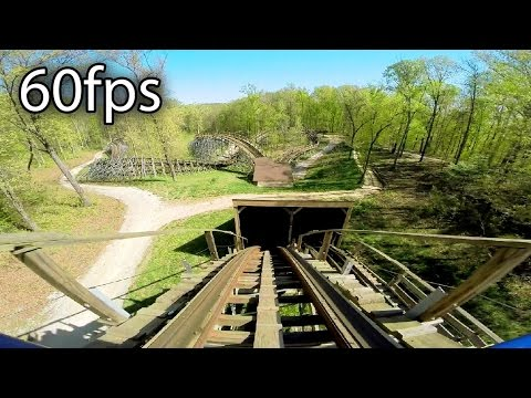 The Voyage front seat on-ride HD POV @60fps Holiday World