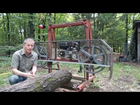 Bandsaw Mill 4  -  Getting the best speed